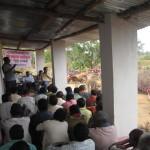 Farm-Scientist & Farmers meet organised on 21.12.2014. Resource Persons were from KVK, Umerkote.