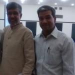 Chairman of Govindalaya met Nobel Laureate Shri. Kailash Satyarthi and briefed him on the plight of children of KBK region: 30.3.2015