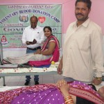 Blood donation camp organised at DHH Blood Bank, Nabarangpur on 26th January 2015